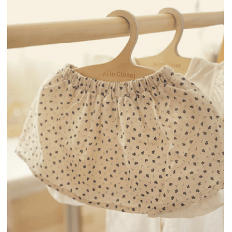 Arim Closet - Flower Skirt with Bloomers