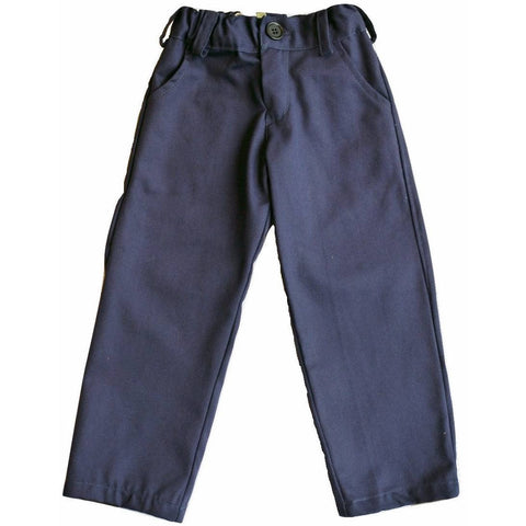 Plumeti Rain - Midnight Blue Martin Chinos - BubbleChops
