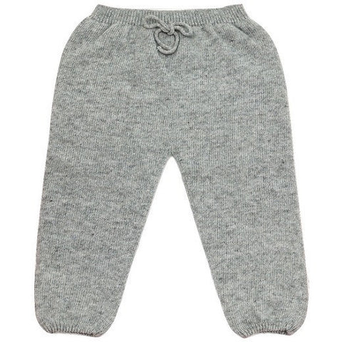 Plumeti Rain - Nico Knitted Leggings in Grey, Plumeti Rain - BubbleChops LLC