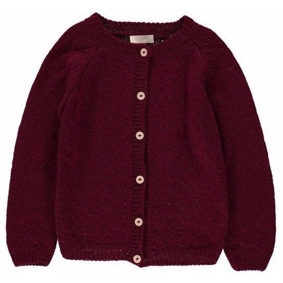 Rose Stitch Cashmere Cardigan, Olivier Baby & Kids - BubbleChops LLC