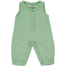 Green Jade Overalls (Organic Cotton), Poudre Organic - BubbleChops LLC