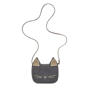 Cute Cat Cross Body Bag, Mimi and Lula - BubbleChops LLC