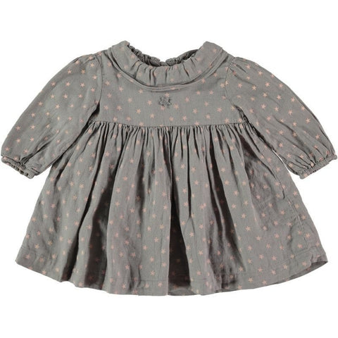 Tocoto Vintage Baby Star Dress - BubbleChops