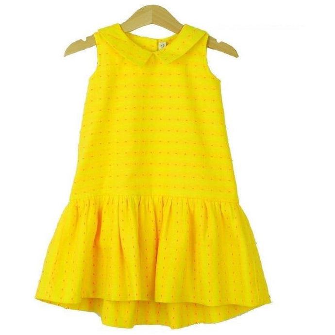 Sunshine Yellow Juliette Dress, Whimsigirl - BubbleChops LLC