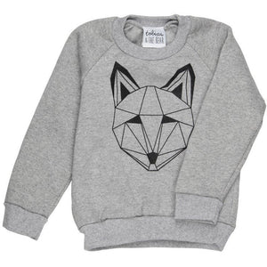 Just Call Me Fox Sweatshirt, Tobias & the Bear - BubbleChops LLC