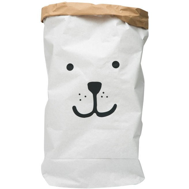 Reusable Bear Storage Bag, Tellkiddo - BubbleChops LLC