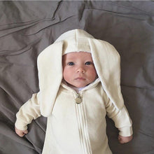 Bunny Jumpsuit in Ivory, Lala - BubbleChops LLC