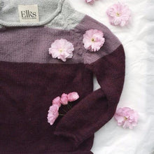 Handknitted Alpaca Wool Sweater (Plum), Elks of Ireland - BubbleChops LLC