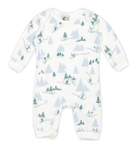 Sleepy Doe - Alpine Adventure Baby Romper, Sleepy Doe - BubbleChops LLC