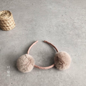 Bear Ears Headband (3 Colours), Lala - BubbleChops LLC