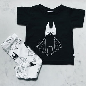 Super Batty Leggings, Tobias & the Bear - BubbleChops LLC