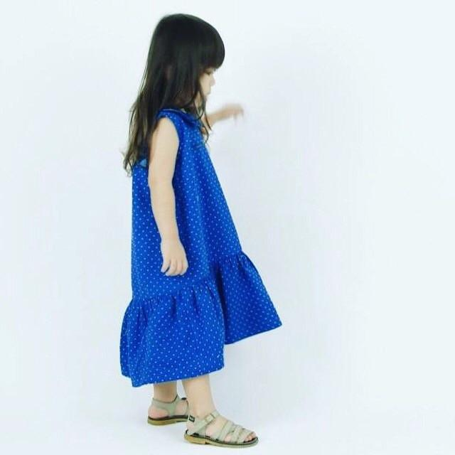 Royal Blue Juliette Dress, Whimsigirl - BubbleChops LLC