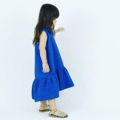 Whimsigirl - Blue Juliette Dress