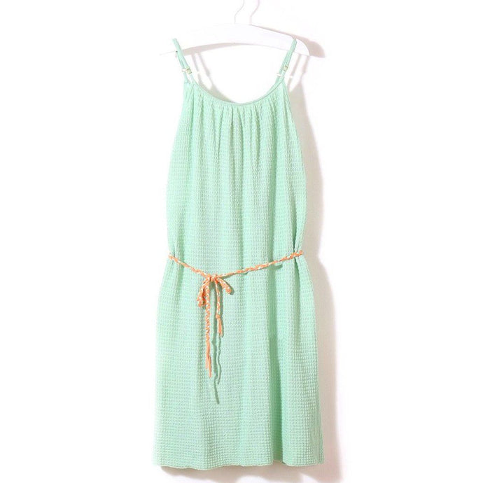 Daydream Beach Dress (Mint), Knit Planet - BubbleChops LLC