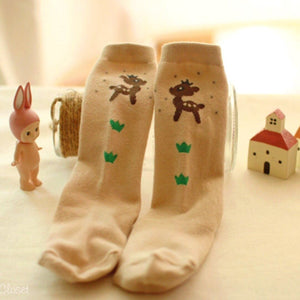 Reindeer Knee Socks, Arim Closet - BubbleChops LLC