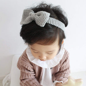 Handmade bow head band, Aosta - BubbleChops LLC