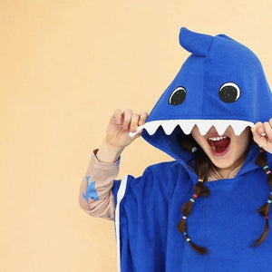 Shark Towel Poncho, Ae Hem - BubbleChops LLC