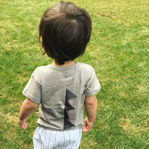 Dinosaur Tee (2 Colors), Lulu - BubbleChops LLC