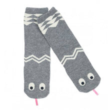 Snake Socks in Grey, Mini Dressing - BubbleChops LLC