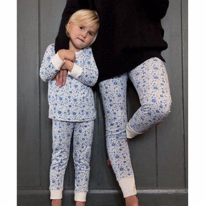 Dancing Floral PJ Set, Sleepy Doe - BubbleChops LLC