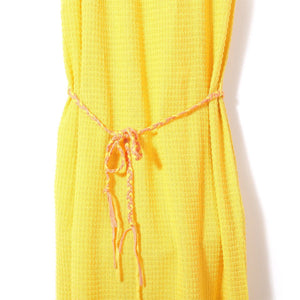 Daydream Beach Dress (Yellow), Knit Planet - BubbleChops LLC