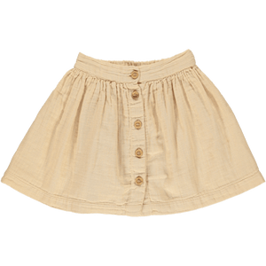 Midi Skirt in Amberlight (Organic Cotton), Poudre Organic - BubbleChops LLC