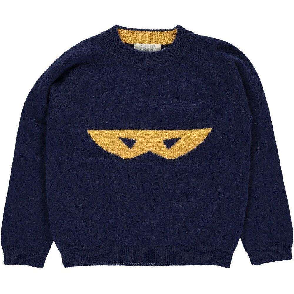 Superhero Cashmere Sweater, Olivier Baby & Kids - BubbleChops LLC