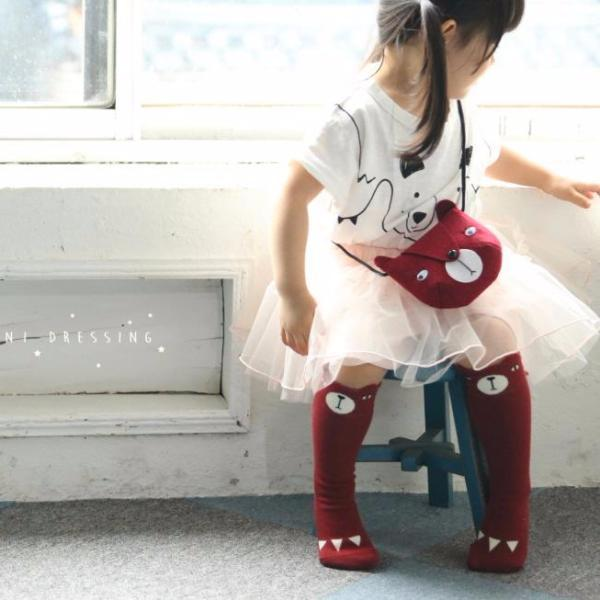 Bear Toddler Bag (Red), Mini Dressing - BubbleChops LLC