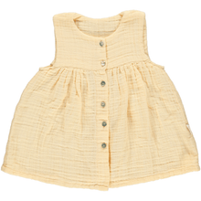 Peach Dress (Organic Cotton), Poudre Organic - BubbleChops LLC