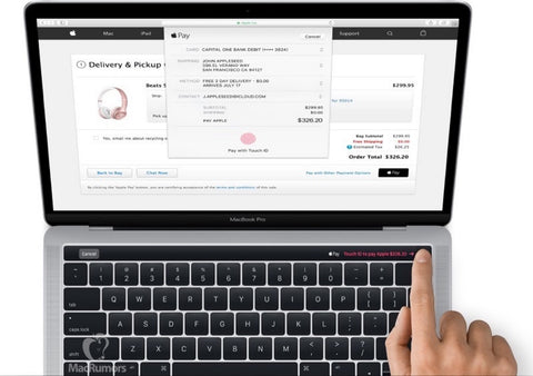 Touch ID of macbook pro 2018