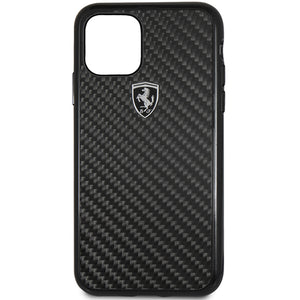 Ferrari Scuderia Case for iPhone Xs Max, iPhone 11 Pro, iPhone 11 Pro Max Carbon Black
