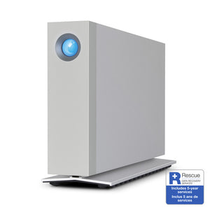 Apple Certified LaCie 6TB d2 Thunderbolt 3 Desktop Drive - Custom Mac BD
