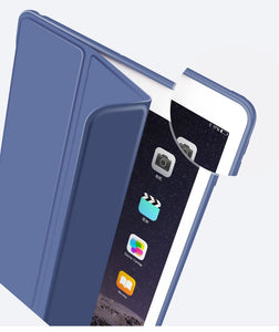 WIWU Smart Folio Protective Case for iPad Mini 5 2019 Navy Blue