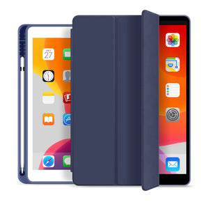 WiWU Smart Folio protective case for iPad 10.2 10.5 2019 PU Leather  with Pencil Holder