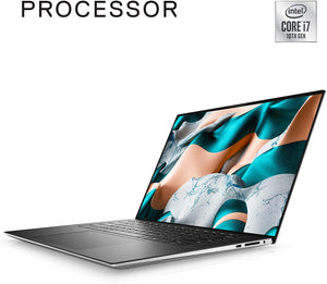 PRE-ORDER New Dell XPS 15 9500 15.6 inch UHD+ Touchscreen Laptop (Silver) Intel Core i7-10750H 10th Gen, 16GB DDR4 RAM, 1TB SSD, Nvidia GTX 1650 Ti with 4GB GDDR6, Window 10 Home