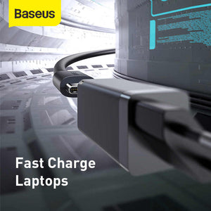 Baseus 45W GaN Charger PD With Fast Charging Type C 1m Cable