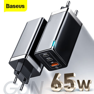 Baseus GaN Mini Quick Charge Travel Charger 65 Watt
