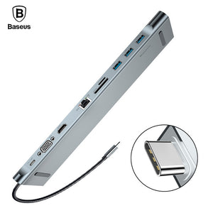 Baseus USB Hub 10 In 1 - Custom Mac BD