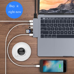 Wiwu USB Hub 7 In 1 Type-c Hyperdrive - Custom Mac BD