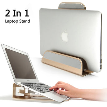 Universal Laptop Macbook Stand Aluminium - Custom Mac BD