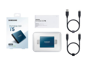 Samsung Portable SSD T5 500GB - Custom Mac BD