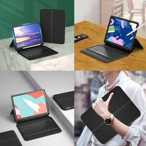 WIWU Smart Keyboard for iPad Pro 11 2020/2018 Bluetooth Keyboard Folio (4854694838335)
