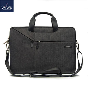 Wiwu Gent Brief Case Waterproof Nylon Laptop Bag For Apple MacBook Ultrabook - Custom Mac BD