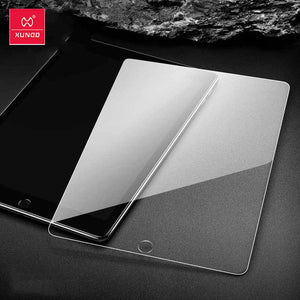 Xundd Tempered Film For iPad 10.2, iPad Air 4, iPad Pro 12.9 Screen Protector Curved Edge 2.5D Anti Fingerprint Scratch Proof Clear 9H Hardness Safe