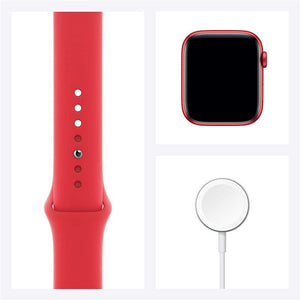 Brand New Apple Watch - Series 6 - Red aluminum case with Red sport strap (GPS) 44MM (4818303615039)