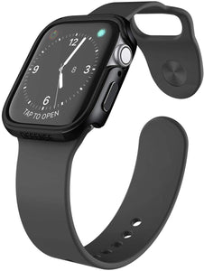 X-Doria Defense Edge Case Compatible with 44mm Apple Watch Series 4 & Series 5-Black