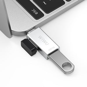 WiWU T02 USB-C Adaptor, up to 5Gbps data transfer speed