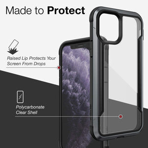 Defense iPhone Case Shield-Black for iPhone 11 Pro and iPhone 11 Pro Max