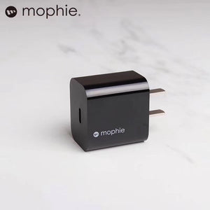 Mophie USB-C 18W Wall Adapter (Black)
