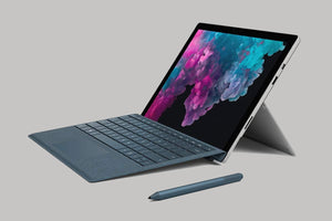 Microsoft Surface Pro 7 Grey (Quad-Core Intel Core i5 10th Gen, 8GB RAM, 128GB SSD) With Type Cover - Custom Mac BD